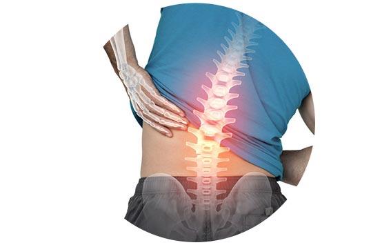 La douleur à gauche dans le dos et dans le ventre en bas à gauche chez